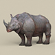 Game Ready Rhinoceros