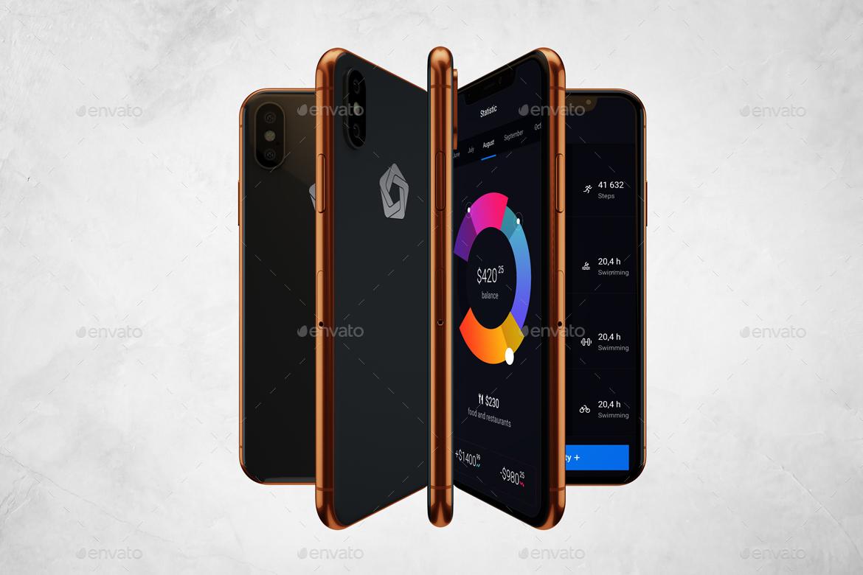 Animated Phone X Mockup V.2