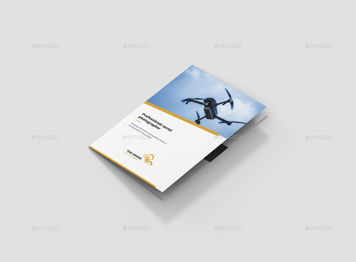 Brochure – Drone Photographer Tri-Fold A5