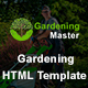 Gardening Master - Gardening and Landscaping HTML5 Responsive Template