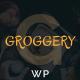 Groggery - Responsive Bar, Restaurant and Cafe WordPress Theme