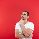 Adult serious man in colorful sunglasses - PhotoDune Item for Sale