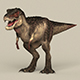 Game Ready Dinosaur Trex - 3DOcean Item for Sale