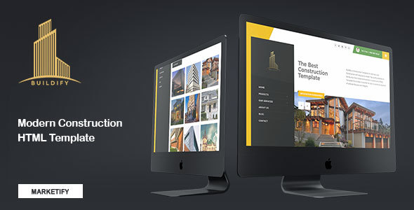 Image of Buildify - Construction Building Template