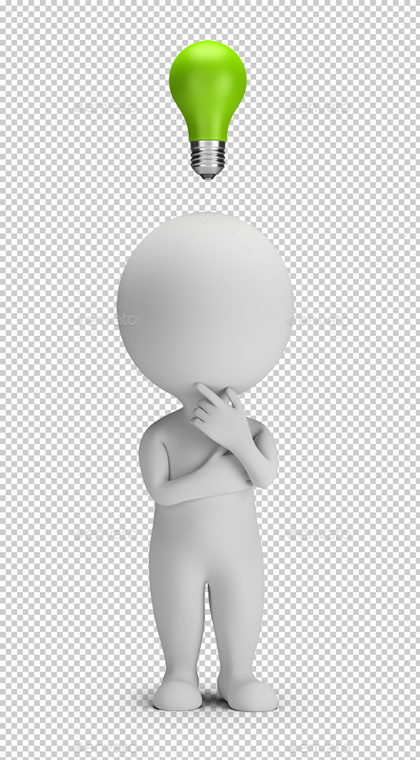 3D Small People - Idea - Characters 3D Renders