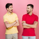 Portrait of a young gay couple standing together - PhotoDune Item for Sale