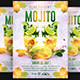 Mojito Party Flyer Template