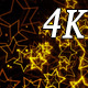 Golden Stars 4K 03 - VideoHive Item for Sale