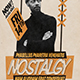 Vintage Poster / Flyer Music - GraphicRiver Item for Sale