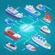 Ships Isometric Flowchart