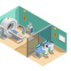 Medical Examination Isometric Composition - GraphicRiver Item for Sale
