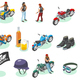 Isometric Bikers Icon Set - GraphicRiver Item for Sale