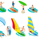 Surfboard Types Icon Set - GraphicRiver Item for Sale