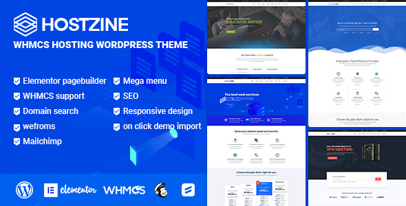 Hostzine - Hosting WordPress Theme