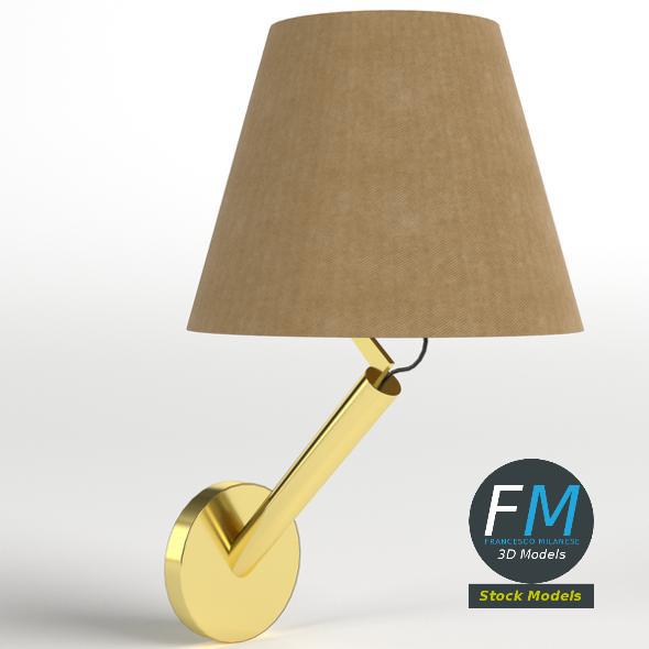 Applique with oblique stand - 3DOcean Item for Sale
