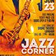 Jazz Corner Flyer - GraphicRiver Item for Sale