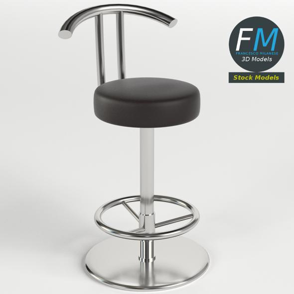 Bar stool 1 - 3DOcean Item for Sale