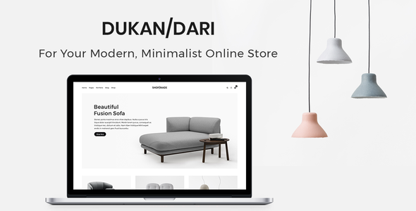 Dukandari - A Modern, Minimalist eCommerce Theme - WooCommerce eCommerce