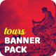 Tours Social Media Pack - GraphicRiver Item for Sale