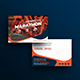 Marathon Event Postcard Template - GraphicRiver Item for Sale