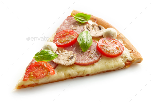 slice of pizza - Stock Photo - Images