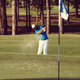 pro golfer hitting a sand bunker shot - PhotoDune Item for Sale