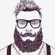 Hipster Characters Kit - GraphicRiver Item for Sale