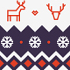 Set of Minimal Christmas Patterns vol. 2 - GraphicRiver Item for Sale