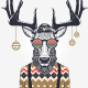 Christmas Deer Characters - GraphicRiver Item for Sale