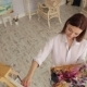 Portrait of a Talented Girl Artist in the Studio - VideoHive Item for Sale