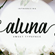 Aluna Font - GraphicRiver Item for Sale