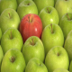 Red Apple In Green Apples - VideoHive Item for Sale