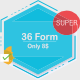 36 FORMS ,Buisness,E-commerce,Multi Step Form,Login Form - HTML FORMS - CodeCanyon Item for Sale