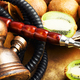 Shisha hookah with kiwi - PhotoDune Item for Sale