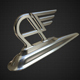 austin hood ornament - 3DOcean Item for Sale