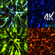 Magic Bundle of Triangle Particles Background 4k - VideoHive Item for Sale