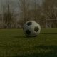 Footballer Kicking Soccer Ball During Free Kick - VideoHive Item for Sale