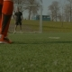 Soccer Player Taking a Penalty Kick During Game - VideoHive Item for Sale