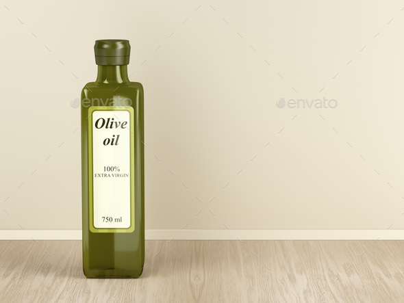 Extra virgin olive oil - Stock Photo - Images