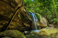 Serenity Falls and swimming hole in Buderim Forest Park, Sunshin - PhotoDune Item for Sale