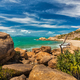 Horseshoe Bay at Bowen - iconic beach with granite climbing rock - PhotoDune Item for Sale
