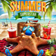 Summer Superstar Flyer Template - GraphicRiver Item for Sale