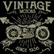 Vintage Motors T-shirt design