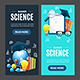 Science Banner Set - GraphicRiver Item for Sale
