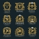 Royal Heraldry Logo Set - GraphicRiver Item for Sale