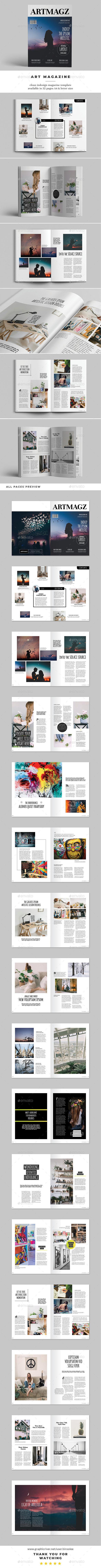 Art Magazine Vol.02 - Magazines Print Templates