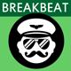 Energetic Breakbeat Background