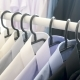 Hanger with Male Business Clothes in a Store - VideoHive Item for Sale