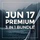 Jun 17 Premium - 3 in 1 Bundle Google Slide Template - GraphicRiver Item for Sale