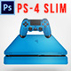 PS4 Console Mock-Up - GraphicRiver Item for Sale